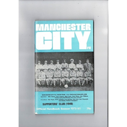 Manchester City Official Football Handbook 1979/80