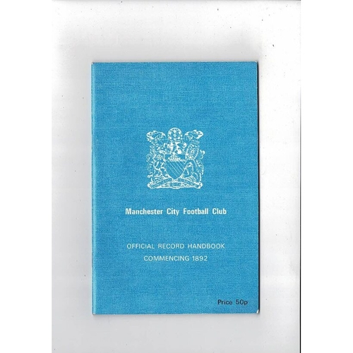 Manchester City Official Record Football Handbook 1976