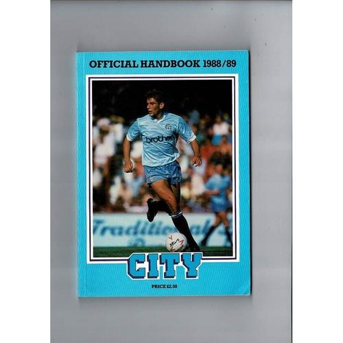Manchester City Official Football Handbook 1988/89