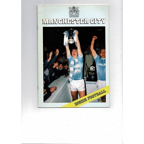 Manchester City Inside Football 1986
