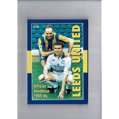 Leeds United Official Football Handbook 1993/94