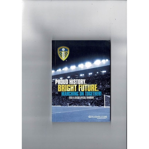 Leeds United Official Football Handbook 2010/11