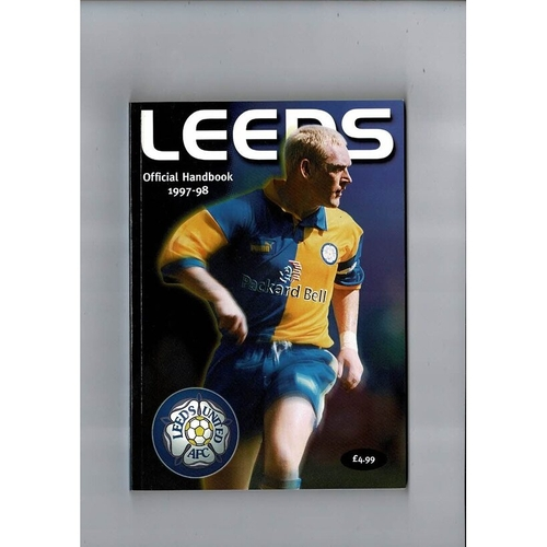 Leeds United Official Football Handbook 1997/98