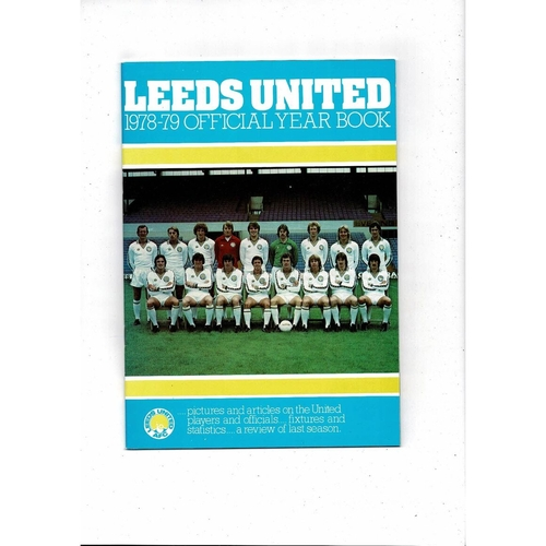 Leeds United Official Football Year book 1978/79