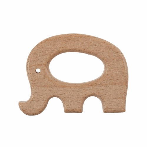 Craft Ring: Wooden: Elephant