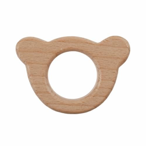 Craft Ring: Wooden: Teddy