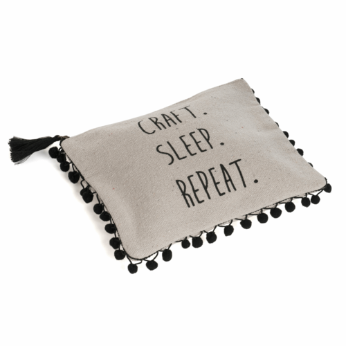 Project Pouch: 'Craft Sleep Repeat' Logo