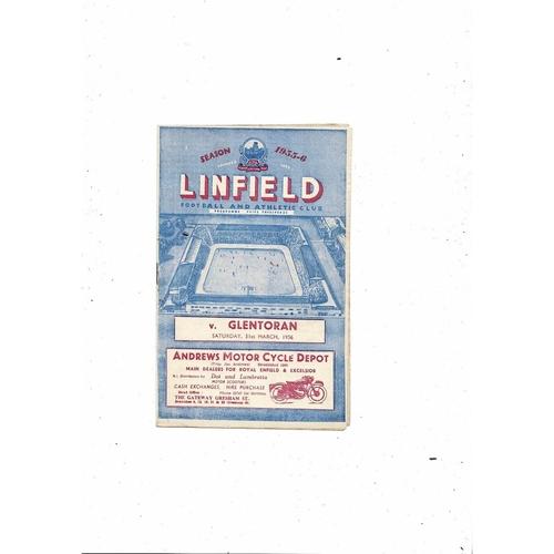 Linfield Football Programmes