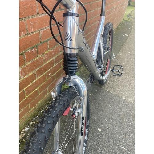 Cannondale Super V1000 Rare Ali/Carbon Edition Full Suspension Mountain Bike.