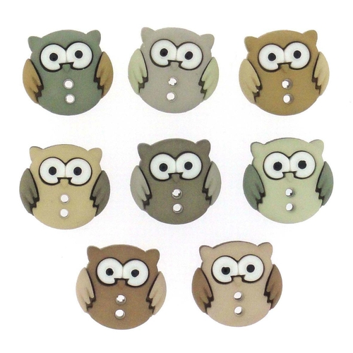 Dress It Up Buttons Sew Cute Owls