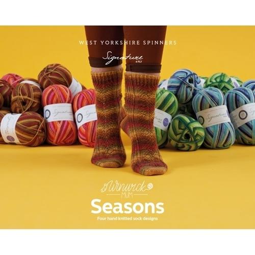 Signature 4ply – Seasons Pattern Book by Winwick Mum
