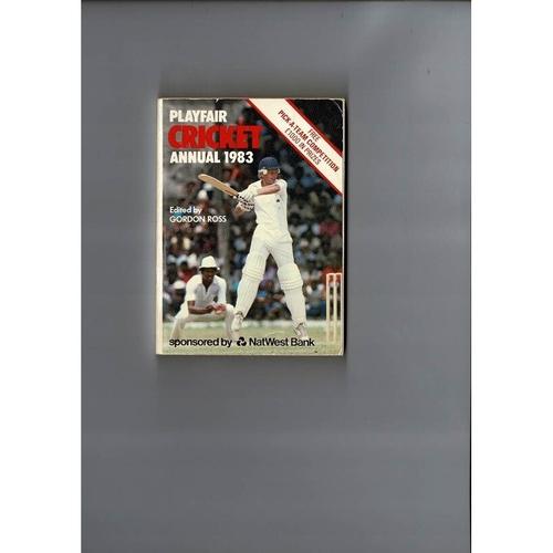 1983 Playfair Cricket Annual