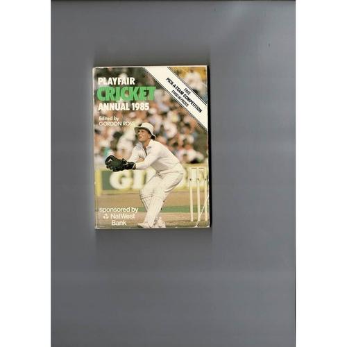 1985 Playfair Cricket Annual