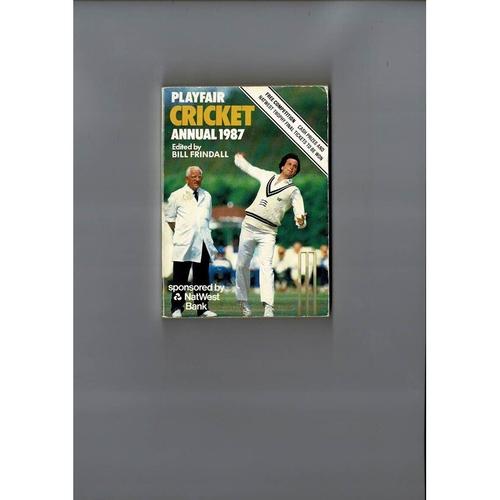 1987 Playfair Cricket Annual