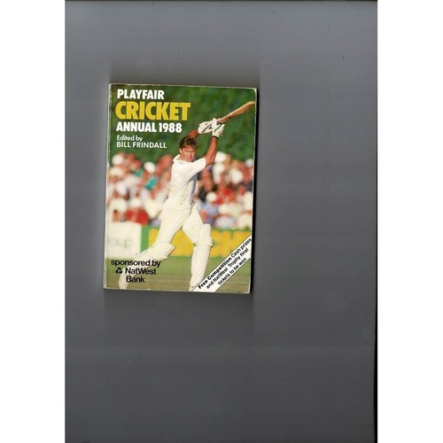 1988 Playfair Cricket Annual