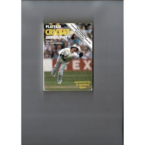 1989 Playfair Cricket Annual