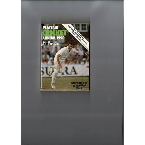 1990 Playfair Cricket Annual