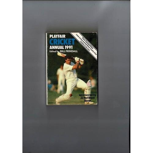 1991 Playfair Cricket Annual