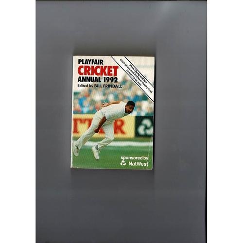 1992 Playfair Cricket Annual