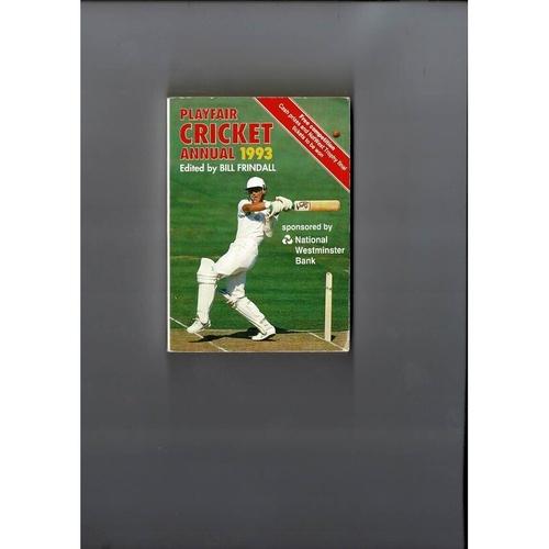1993 Playfair Cricket Annual