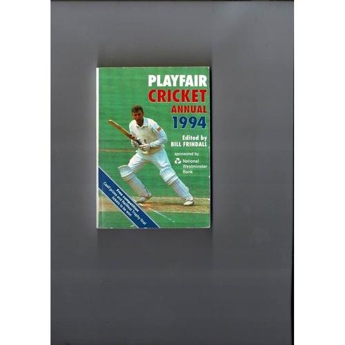 1994 Playfair Cricket Annual