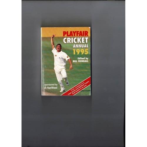 1995 Playfair Cricket Annual