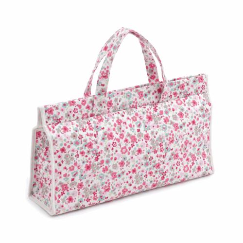 Hobby Gift Triangle Knitting Bag Confetti Raspberry