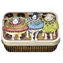 Sheep in Sweaters Mini Tin
