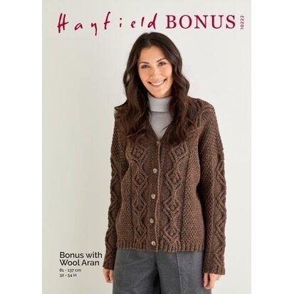 Hayfield Aran Bonus with Wool 10222