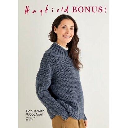 Hayfield Aran Bonus with Wool 10225