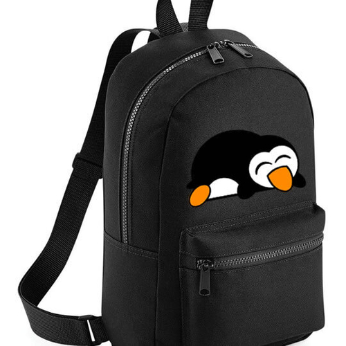 'Sleepy Penguin' Mini Backpack