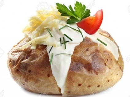 Jacket Potato Mobile Catering Menu