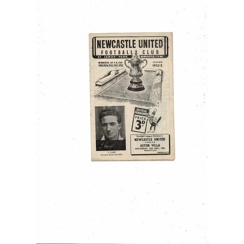 Newcastle United Home Football Programmes