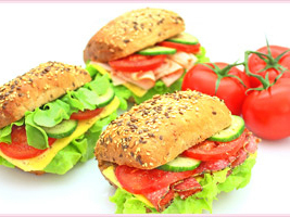 Sandwiches/Baguettes/Soup/Salad Mobile Catering Menu
