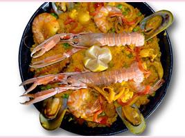 Paella Mobile Catering Menu
