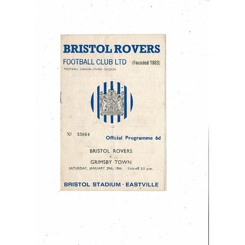 Grimsby Town Away Football Programmes