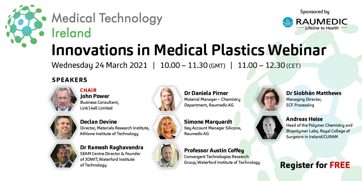 Webinar - Innovations in Medical Plastics