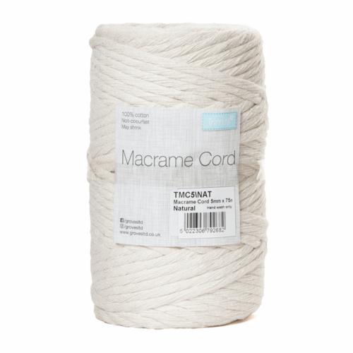 5mm Natural Cord