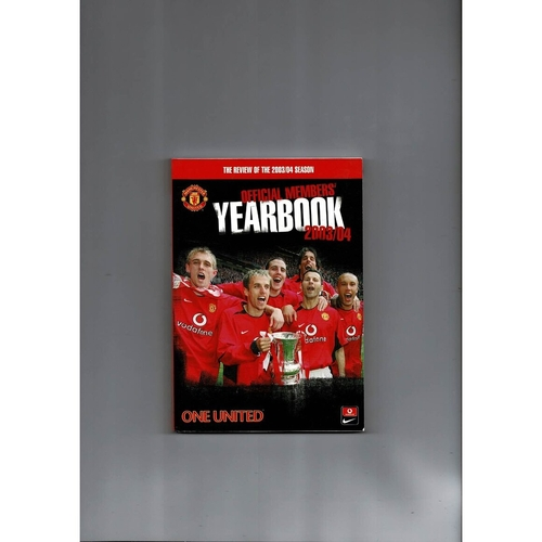 Manchester United Official Football Yearbook 2003/04