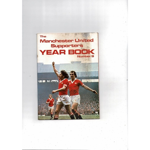 Manchester United Official Football Supporters Yearbook No 9 1980