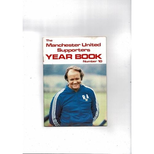 Manchester United Official Football Supporters Yearbook No 10 1981