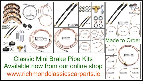 Classic Mini Brake Pipe Kits