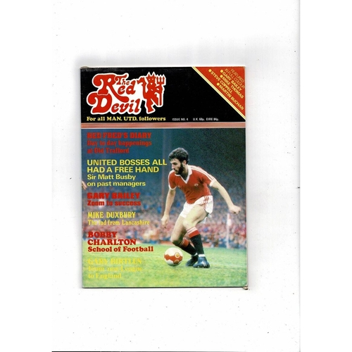 Manchester United The Red Devil Magazine No 4 1981