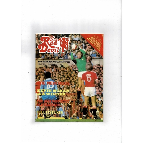 Manchester United The Red Devil Magazine No 5 1981