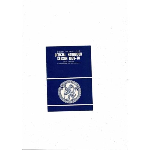 Chelsea Official Handbook 1969/70