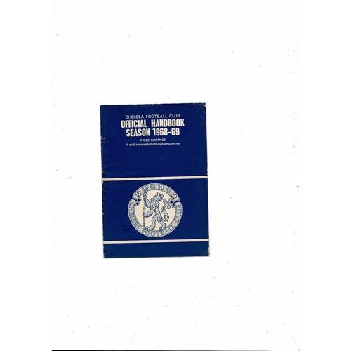 Chelsea Official Handbook 1968/69