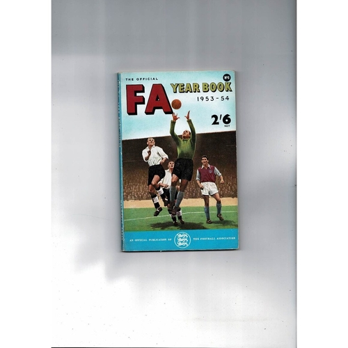 1953/54 The Official FA Year Book