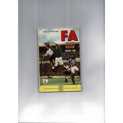 1955/56 The Official FA Year Book
