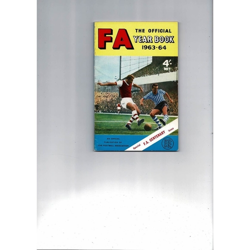 1963/64 The Official FA Year Book