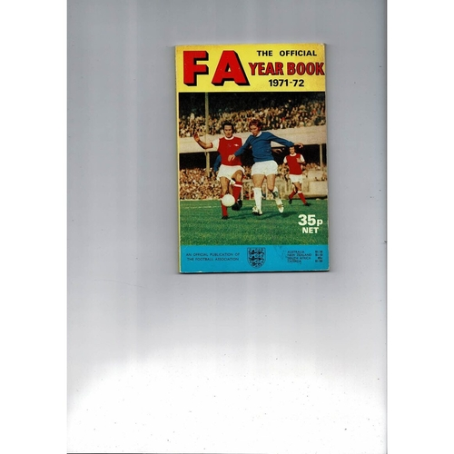 1971/72 The Official FA Year Book
